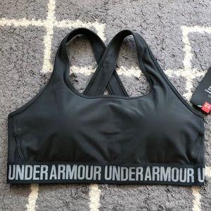 NWT Under Armour women workout Bra XL